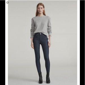 RAG & BONE mid rise skinny jeans sz 26